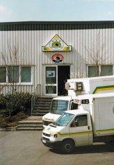 Der Schlachthof in Unna 1994